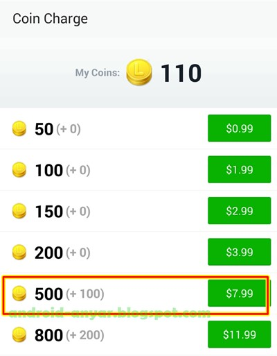 Free 500 +100 Line Coins