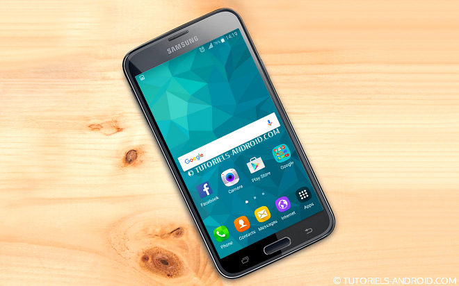 Android 6.0.1 pour GALAXY S5