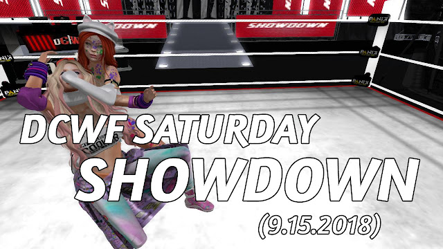DCWF SATURDAY SHOWDOWN In Second Life (9.15.2018) • Second Life Pro Wrestling