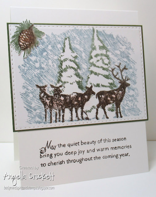 SU A Beautiful Season, ODBD Custom Double Stitched Rectangles Dies, Card Designer Angie Crockett