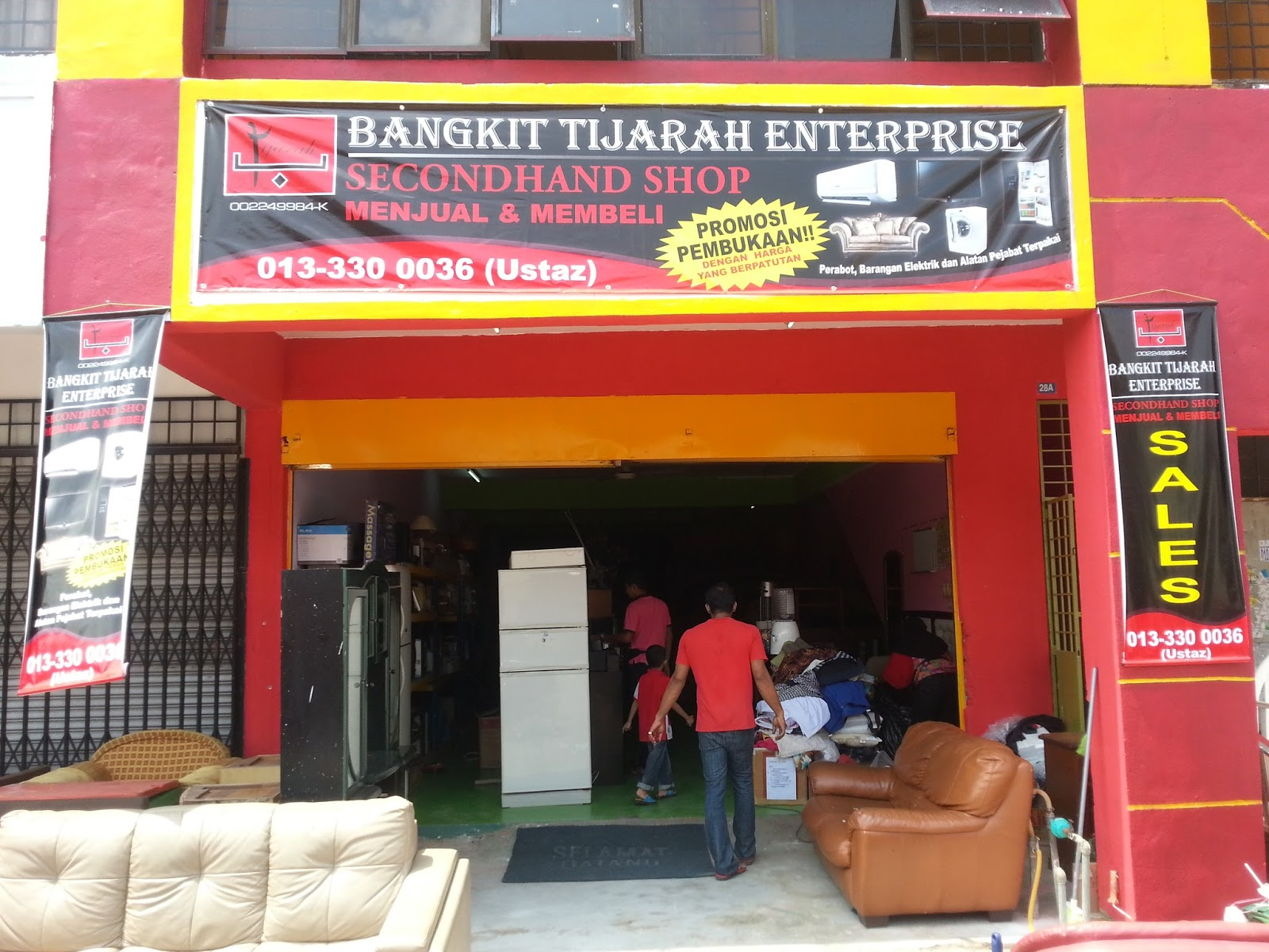 Secondhand Shop No 28 28a Jalan 1 8 Bandar Teknologi Kajang 43000 Kajang Selangor Tel 013 3300036