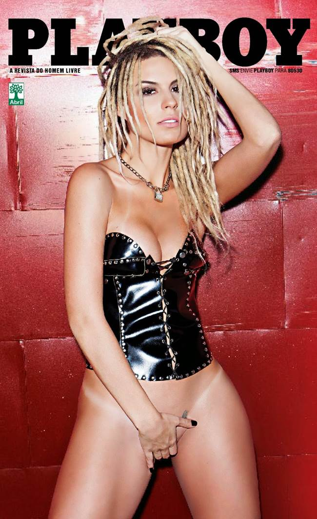 "Fernanda Lacerda ""Mendigata"" pelada nua na Playboy 1"