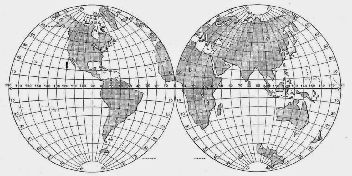 Meridianos, paralelos y coordenadas geograficas