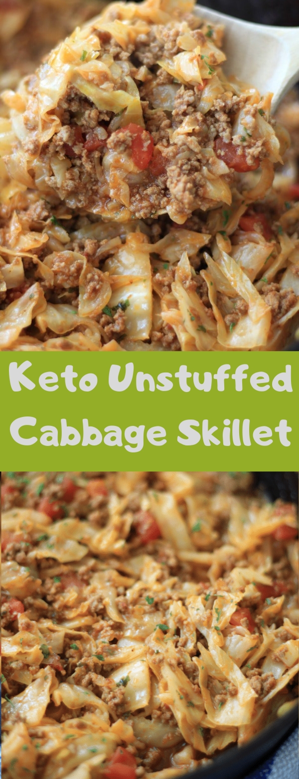 Keto Unstuffed Cabbage Skillet