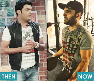 Kapil Sharma Before and After Weight Loss Pictures