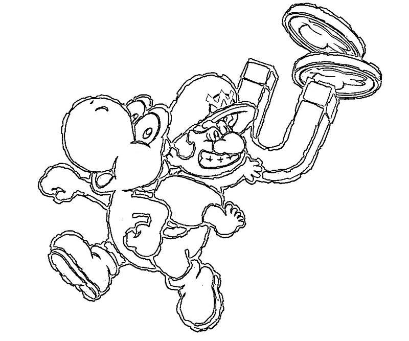 46 yoshi 39 s island ds part 5 yumiko fujiwara for Ds coloring pages