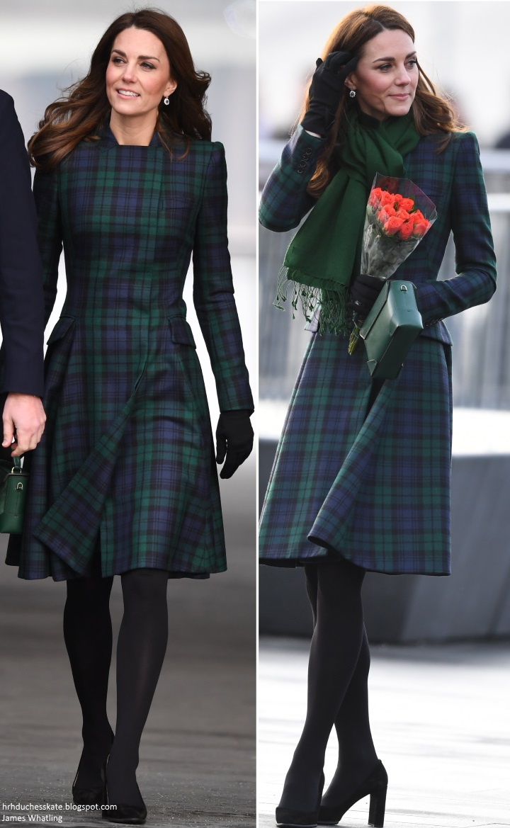 35536d9dbbf The popular garment has been in Kate s closet since 2012. She first wore it  for a visit to her old prep school