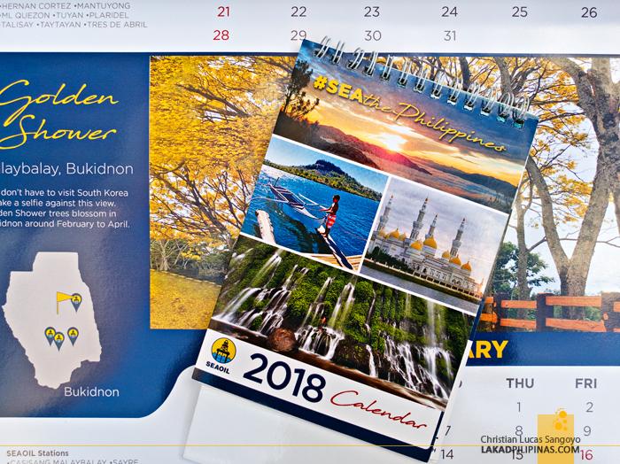 #SEAthephilippines SeaOil 2018 Calendar