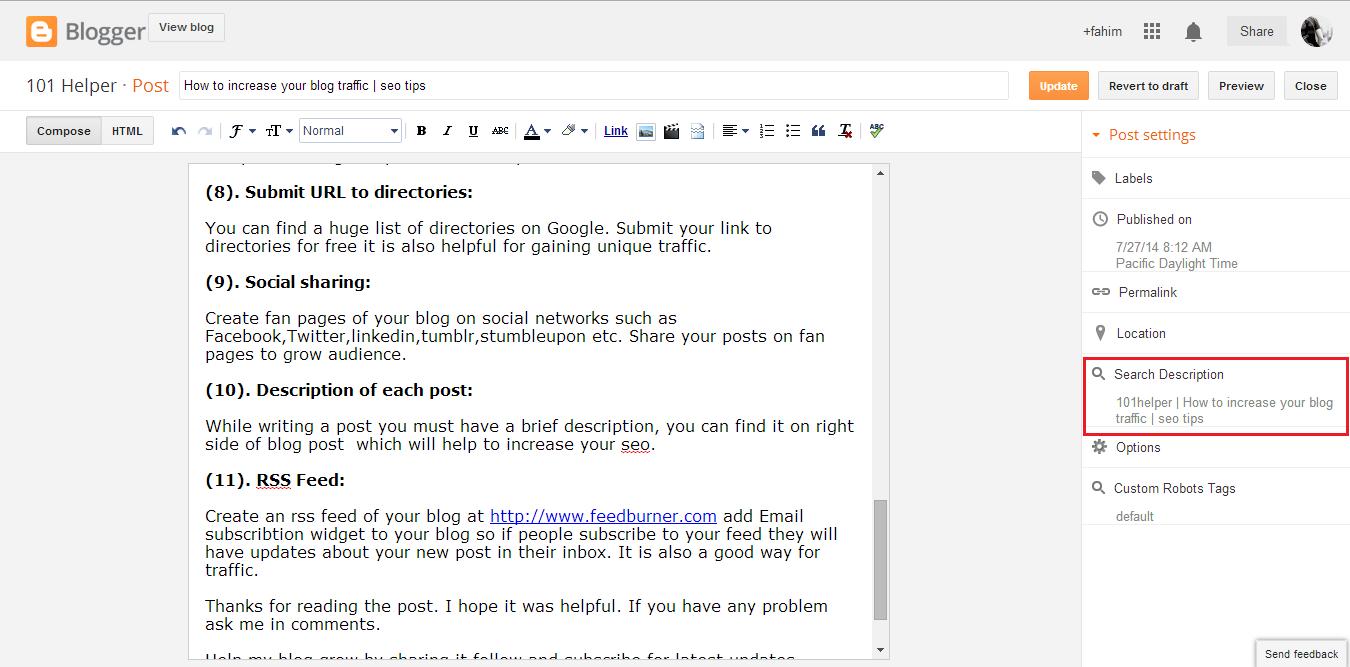 101helper   How to increase your blog traffic   seo tips   101Helper