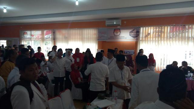Iskandar SE Sambangi Abdiyanto