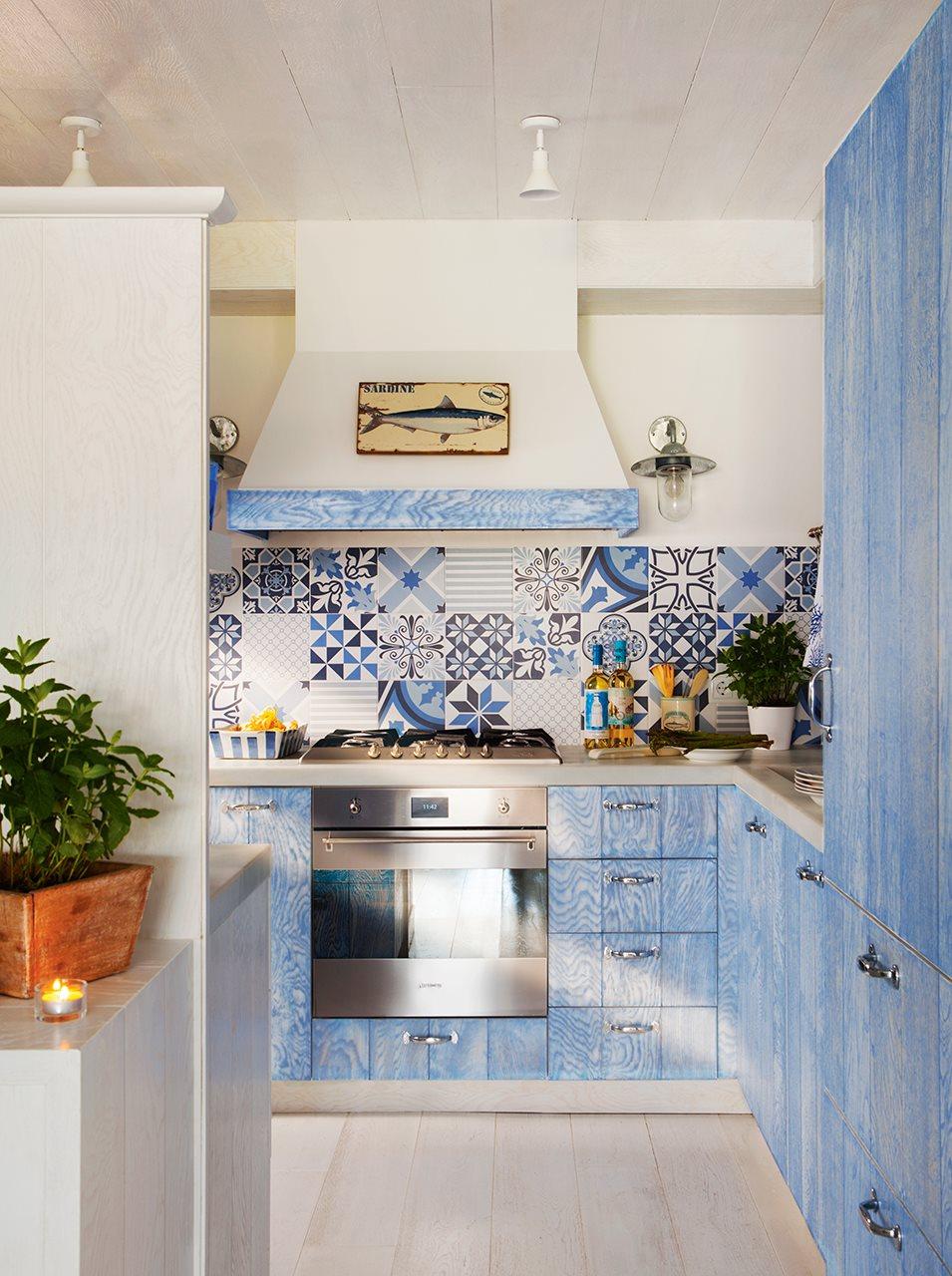 Decordemon when the summer is blue - Azulejos cocina ...