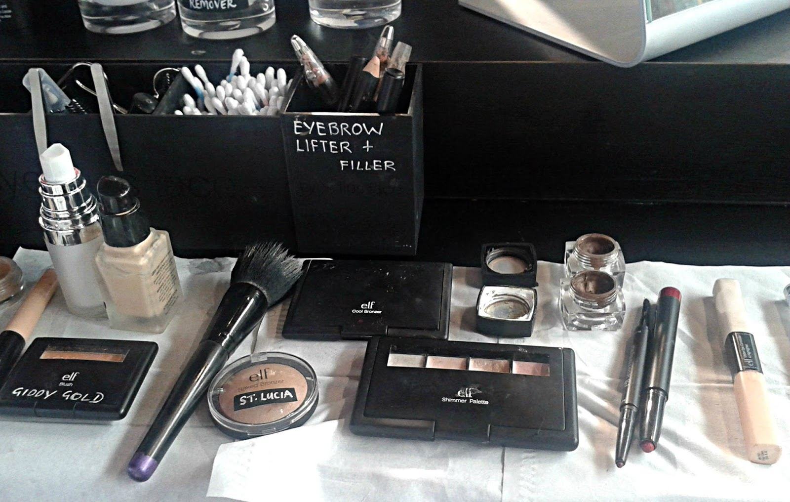 Make up products at Elf Store Cardiff