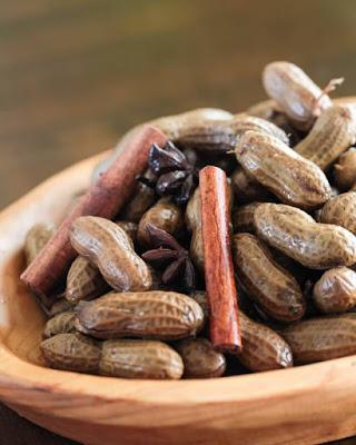 Membuat Kacang Tanah Rebus Ala China