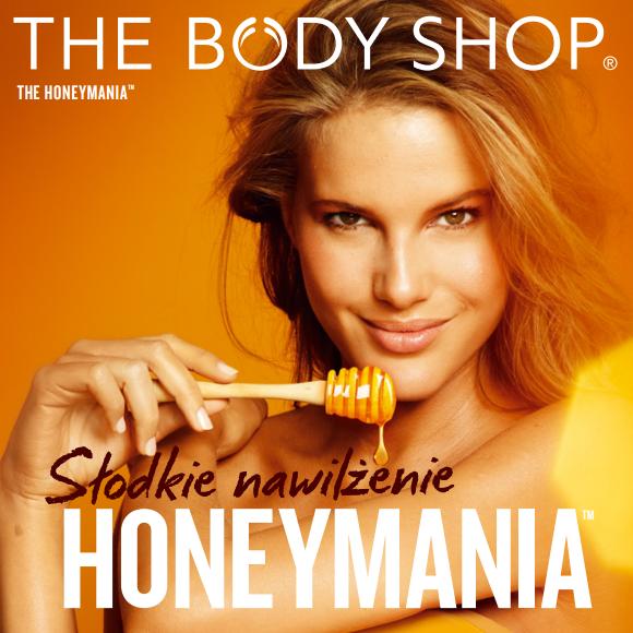 Nowości :: Słodkie nawilżenie <br>– Honeymania The Body Shop