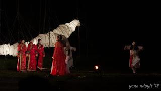 Drama Perjalanan I-Tsing di Borobudur Writers And Cultural Festival 2018
