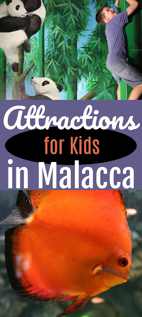 attractions for kids in Malacca