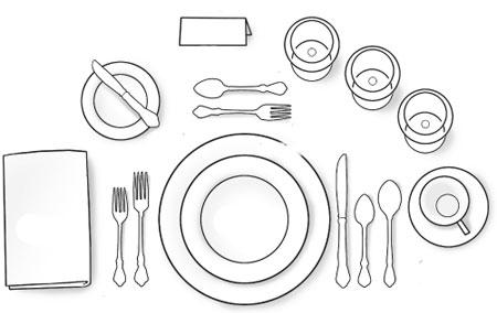 beeldende vorming de tafel dekken