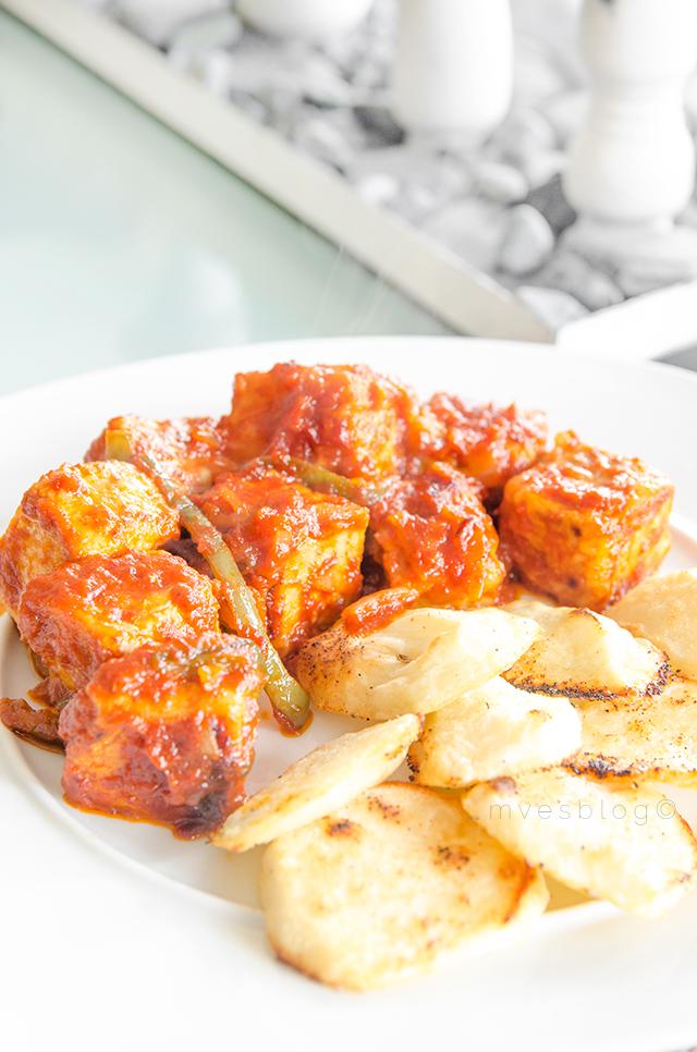 Receta de atún en Salsa de Tomate
