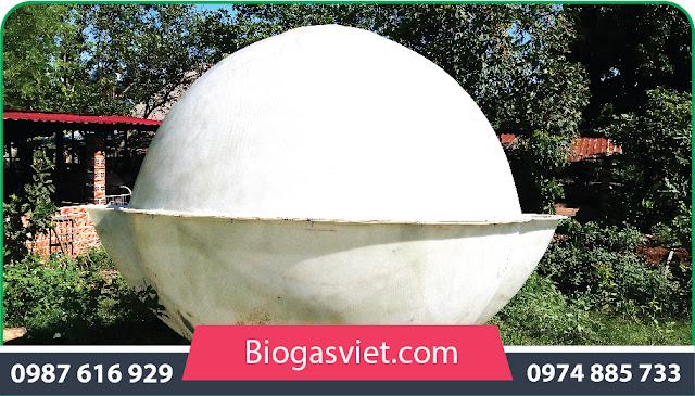 bình biogas composite