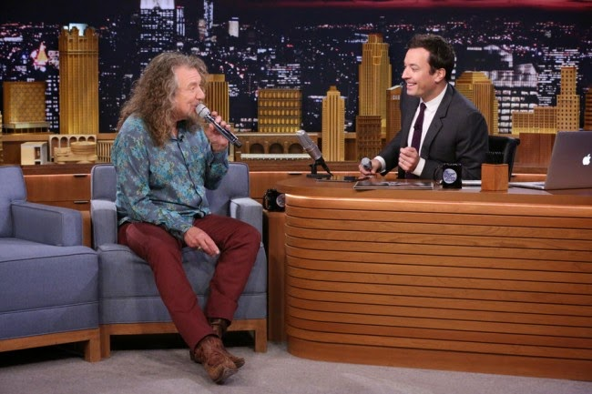 Jimmy Fallon - Robert Plant