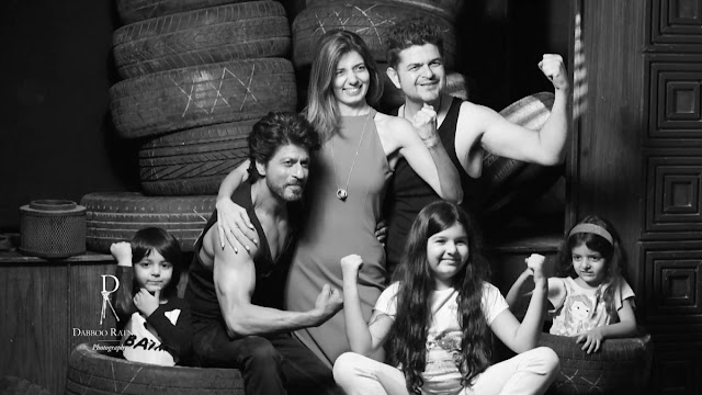 Shah Rukh Khan in Dabboo Ratnani Calender Photoshoot 2017