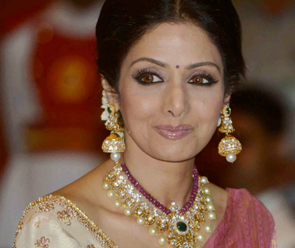 Sridevi Receives Padma Shri Jewellery Designs