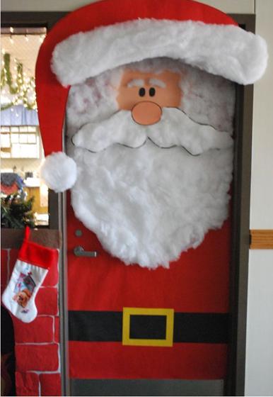 a mi manera arreglo de puertas de navidad