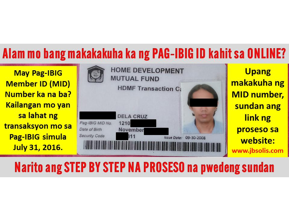 Contribution Pag Ibig Fund