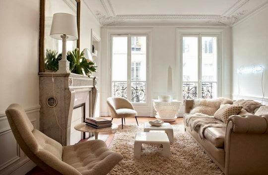 Noir blanc un style - Salon parisien ...