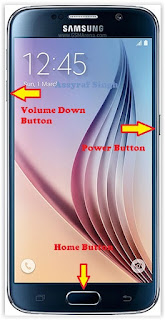 enter download mode samsung galaxy s6/s6 edge