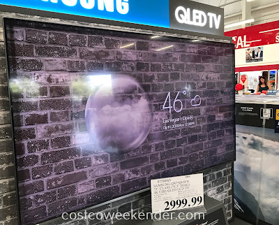 Watch your favorite tv shows, Netflix movies, dvds, live sports on the Samsung QN75Q65FN