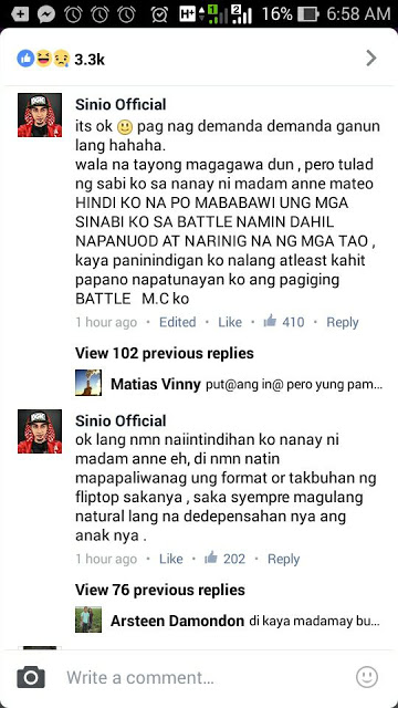 WATCH: Ann B. Mateo And Shehyee Finally Respond To Netizens Who Bashed Them For Rap Battle Issue With Sinio!
