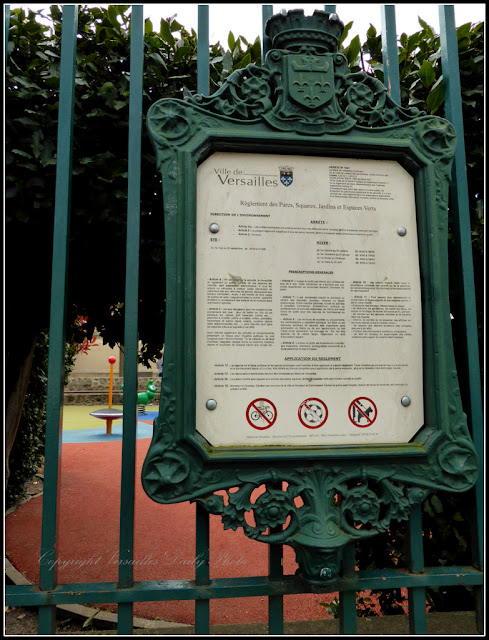 Jardin public Berthier Versailles