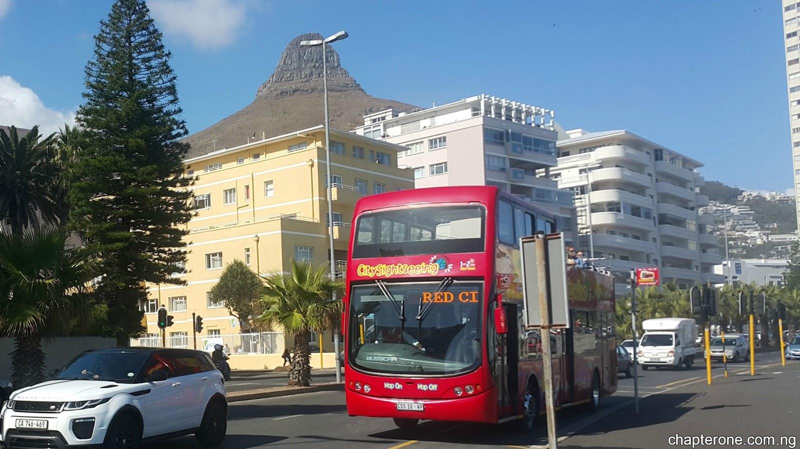 Cape Town Citysightseeing Bus