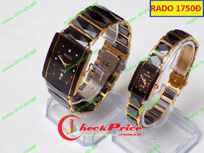 Đồng hồ đeo tay Rado 1750D dây kết nối tình yêu của hai người