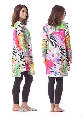 Alkaram kurti designs for ladies