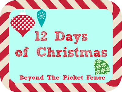 12 Days of Christmas Day 6 Ladder decor http://bec4-beyondthepicketfence.blogspot.com/2014/11/12-days-of-christmas-day-6-ladder-decor.html