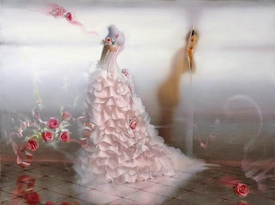 Expectativa - Pinturas sensuais de Andrei Belichenko
