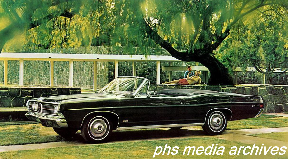 1967 68 Ford Galaxie 500 Xl Battlestar Galaxieca Phscollectorcarworld 1969 Bronco Wiring Diagram The New Grille Was Less Exotic But Horsepower Still Present