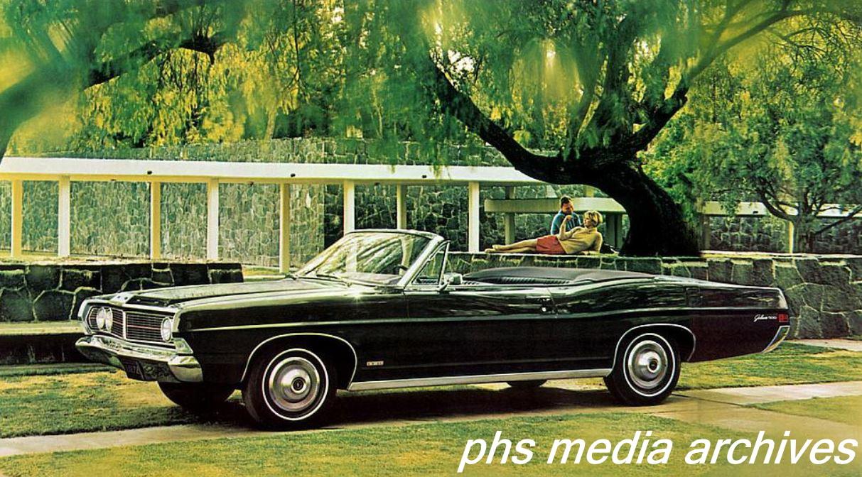 1967 68 Ford Galaxie 500 Xl Battlestar Galaxieca Phscollectorcarworld 390 Wiring Diagram The New Grille Was Less Exotic But Horsepower Still Present