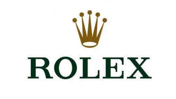 Logo merk Rolex