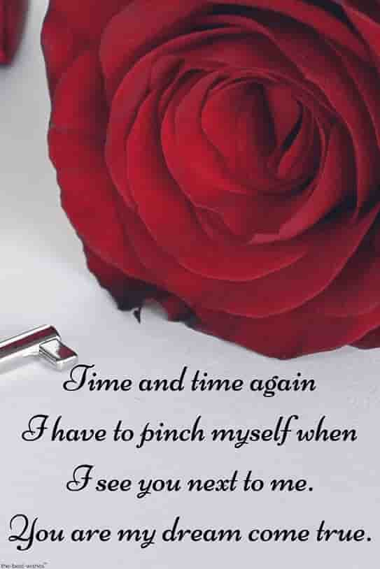 love quotes for her in the morning with red rose