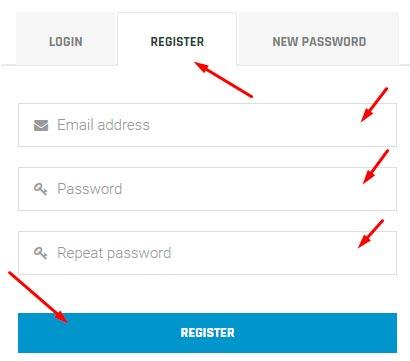 Регистрация в HouseHash 1