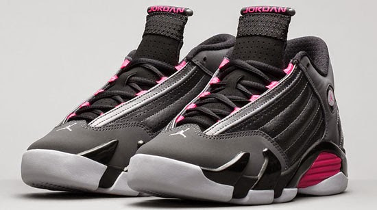The latest girl s colorway of the Air Jordan 14 Retro is now available. 41e8003d8