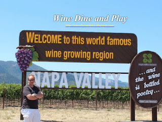 A Napa Valley sip and taste of restaurants like the French Laundry and wines like Ghost Block and Silver Oak