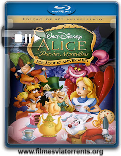Alice no País das Maravilhas (Alice in Wonderland) Torrent - BluRay Rip