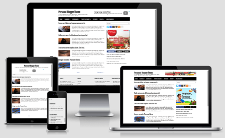 Personal Blogger Theme - SEO Friendly, Fast Loads, Responsive
