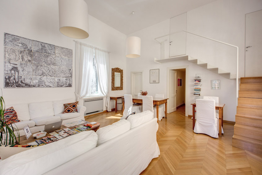 Creative amp Ordinette : giulia house apartment rome living room 1 from creativeordinette.blogspot.it size 846 x 564 jpeg 101kB