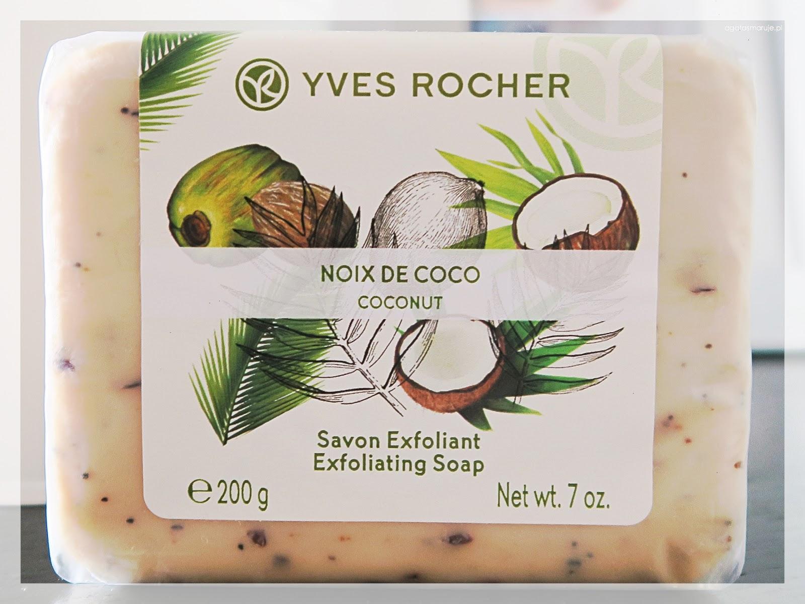 Yves Rocher peeling kokosowy recenzja