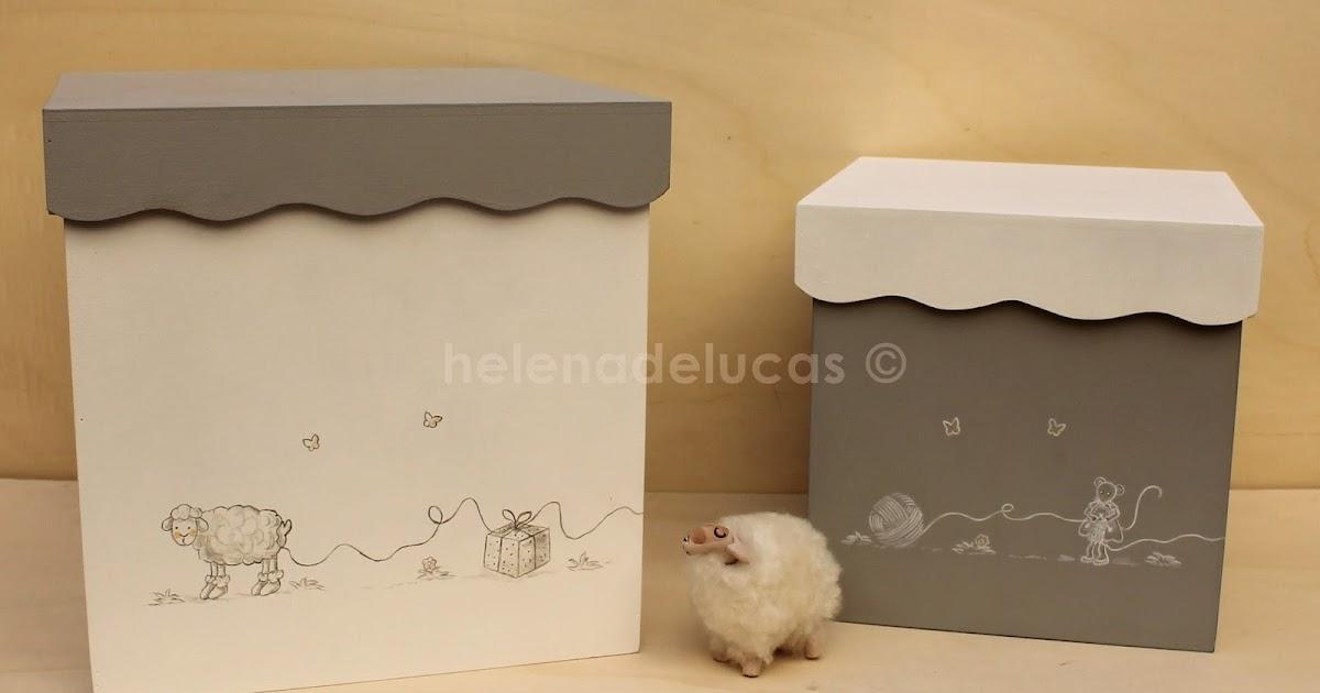 Cajas Decorativas Infantiles